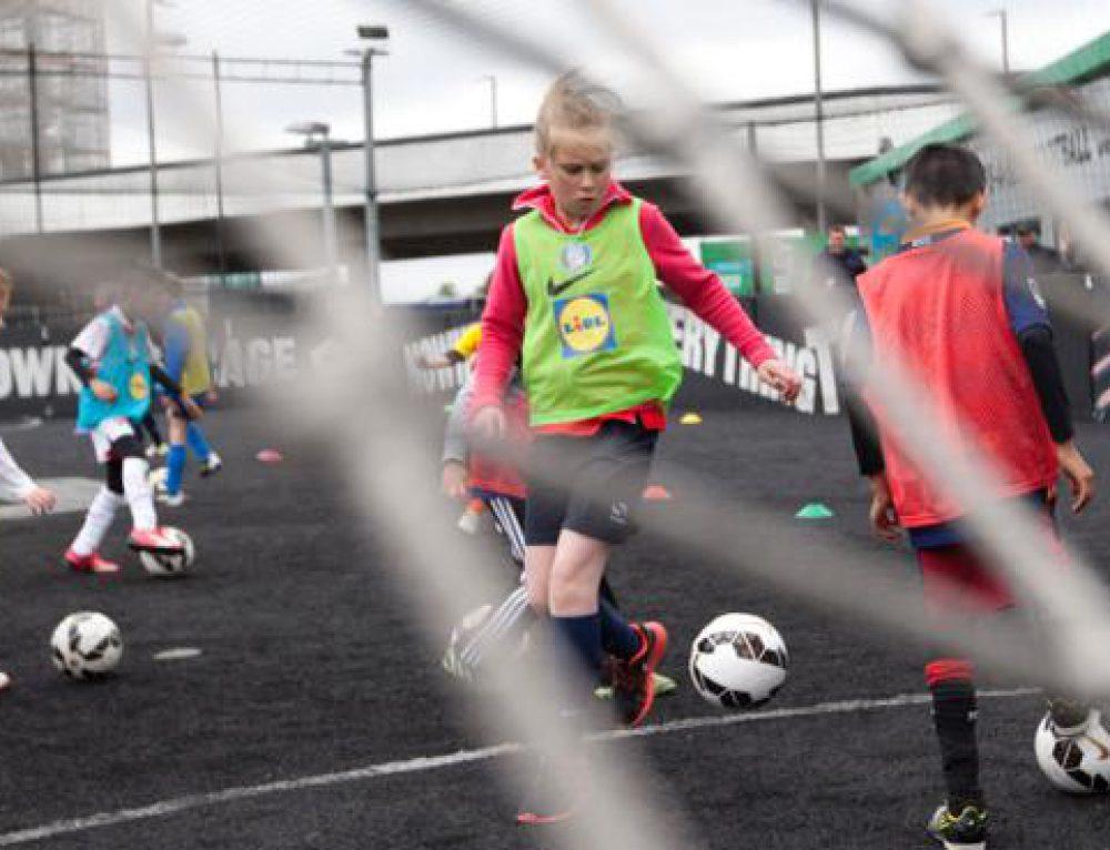 FA Lidl Skills Holiday Coaching