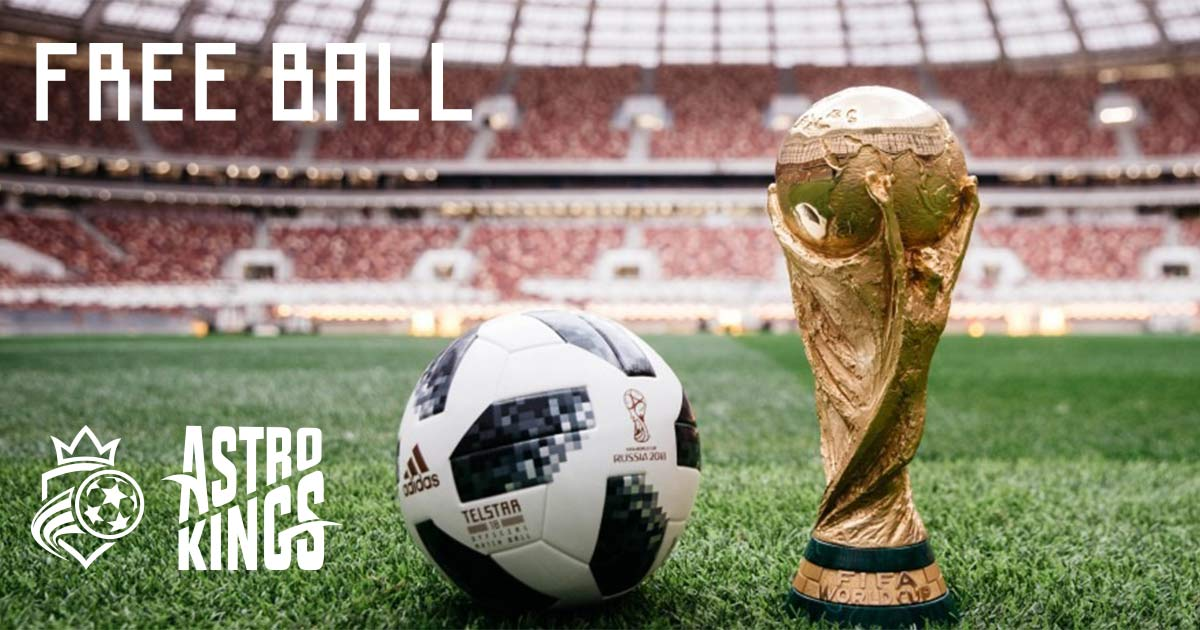 All New Bookings made this week get an Adidas Official World Cup Football. Terms here - [link to post]
