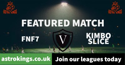 Astro Kings: Monday League Featured Match. FNF 7 v Kimbo Slice